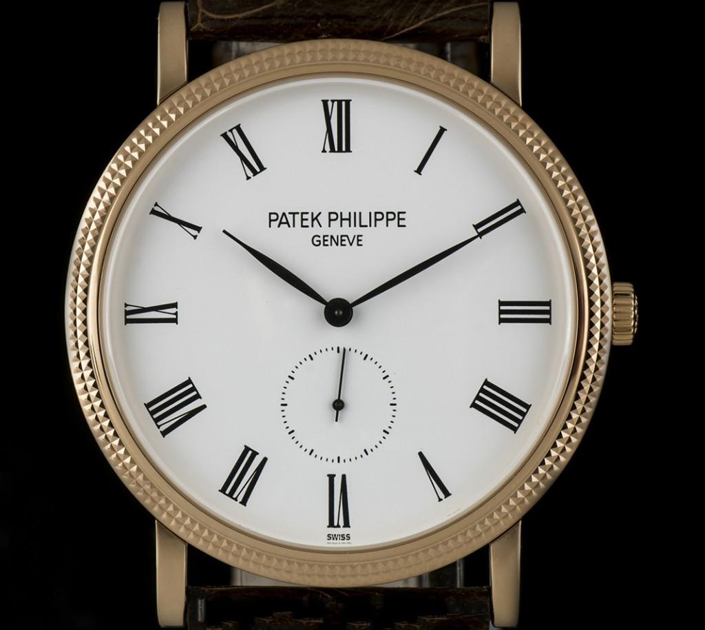 Patek Philippe Calatrava 36MM Rose Gold Case 1