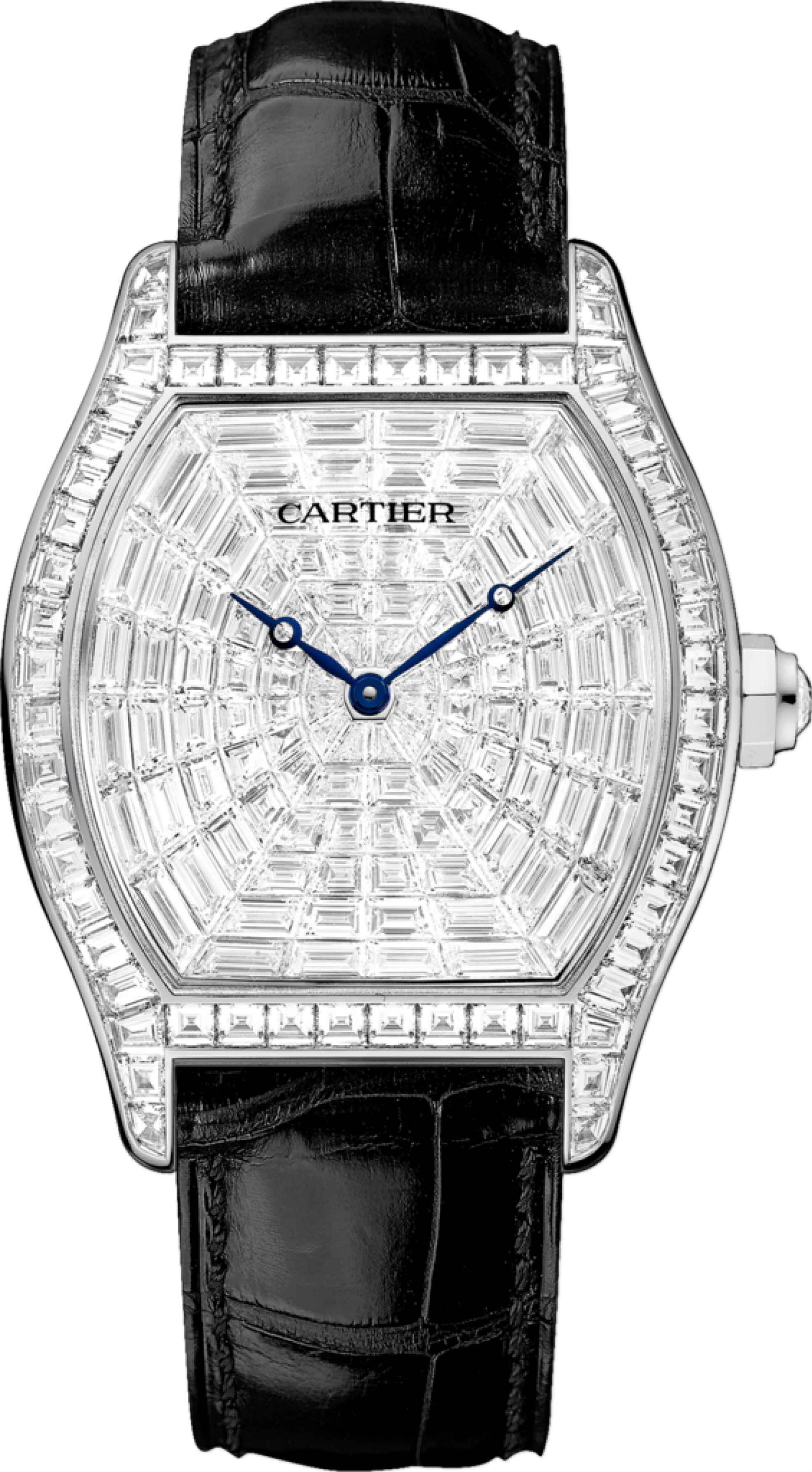 Cartier Tortue White Gold Dial Replica Watches