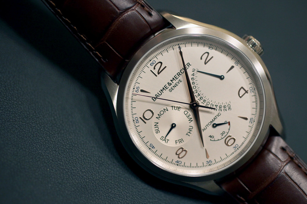Baume & Mercier Clifton Big Date Power Reserve Automatic replica2