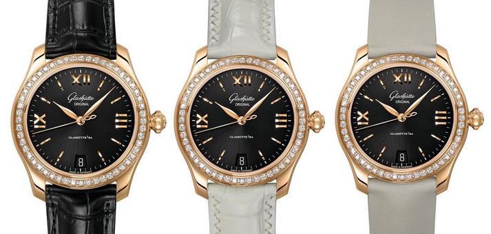 New Elegant Glashutte Original Lady Serenade Fake Watches