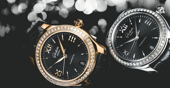 New Elegant Glashutte Original Lady Serenade Replica Watches