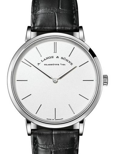 Luxury White Dial A.Lange&Sohne Saxonia Thin Fake Watches