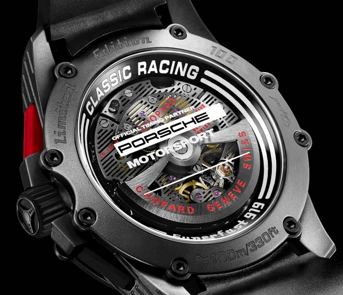 Special Black Chopard Superfast Chrono Porsche 919 Replica Watches