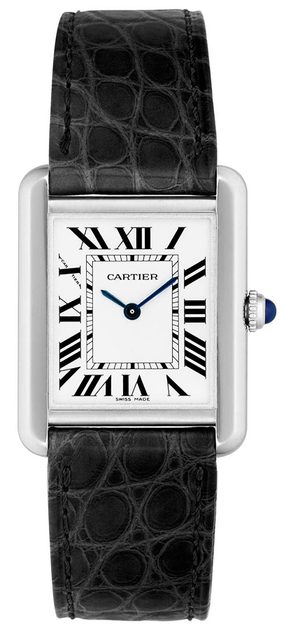 cartier-tank-fake-blue-steel-hands-square-cases