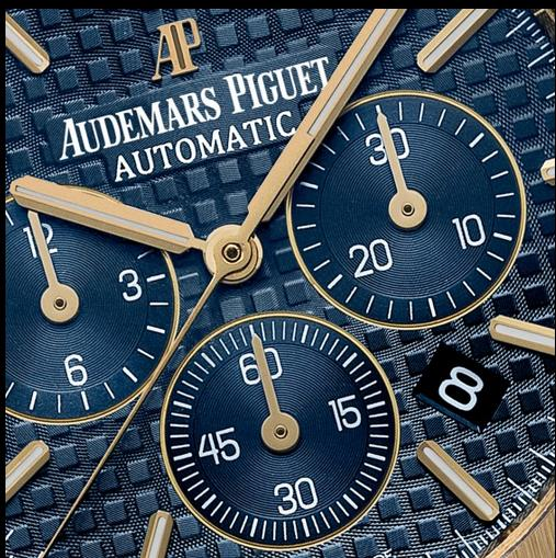 Audemars-Piguet-Royal-Oak-Blue-Dials-Fake