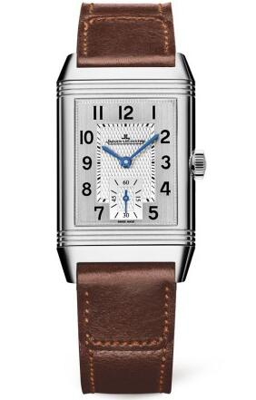 For the brown strap, this elegant fake Jaeger-LeCoultre watch also gives people a vintage feeling.