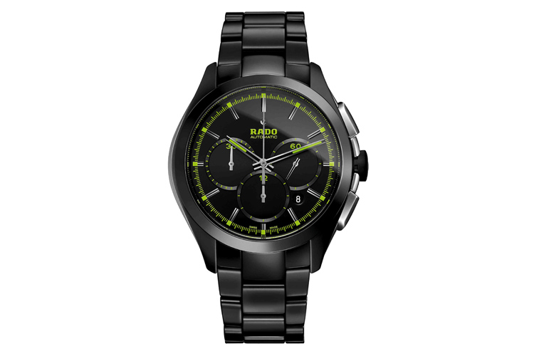 This green scale fake Rado can be said as a perfect combination of eye-catching appearance and outstanding performance.
