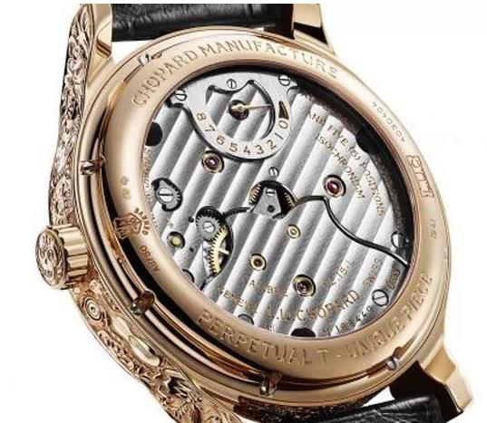 Chopard fake watches with golden cases are extraordinary.