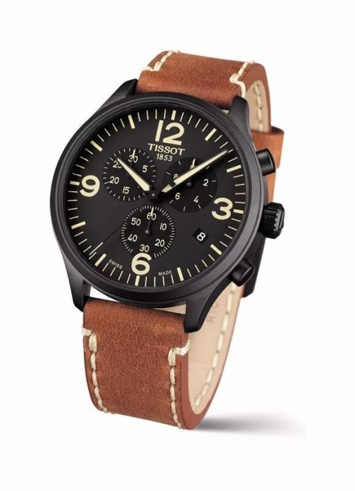 Fake Tissot watches with black dials are exquisite.