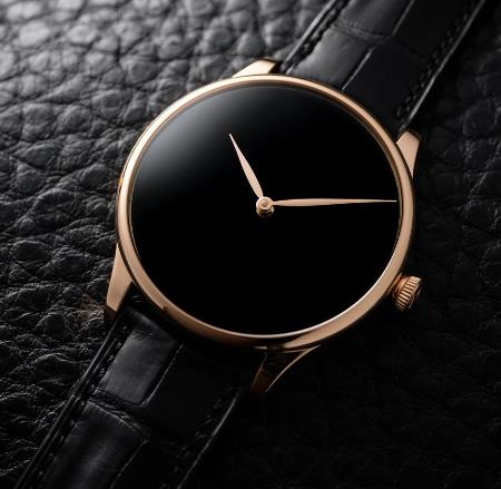 H. Moser & Cie is one of the most recognizable watches with its distinctive design.