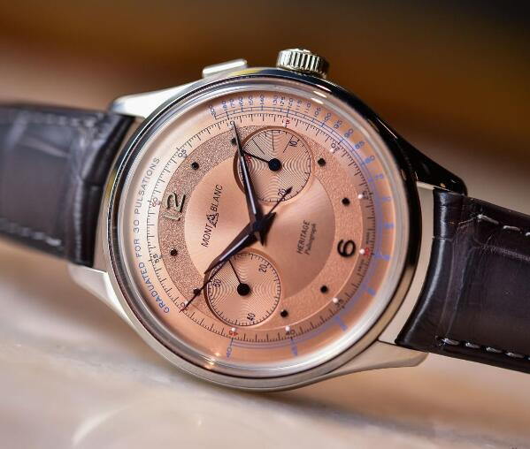 salmon dials make the models very noble.