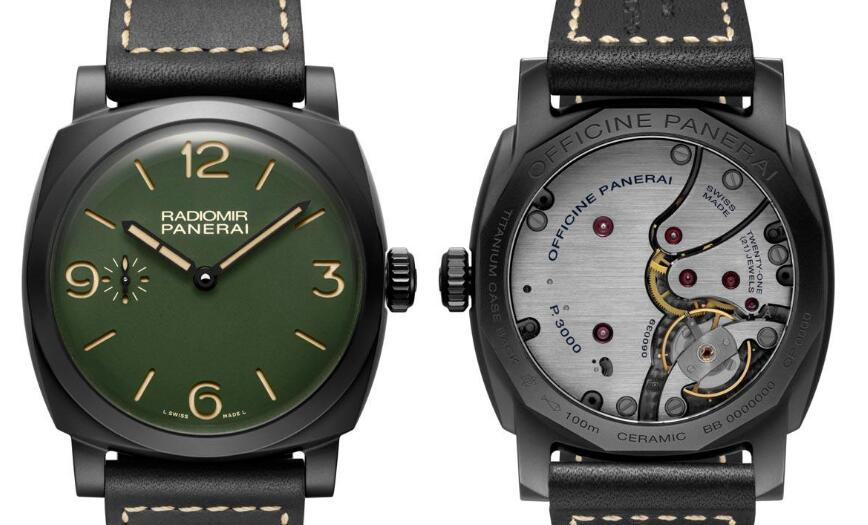 The models look very cool and bold with the black DLC-coated steel case.