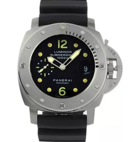 The Panerai Submersible is suitable for strong men.