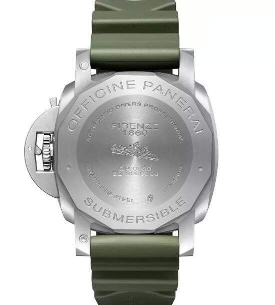 The Panerai with military green dial will decorate all men wearers very strong.
