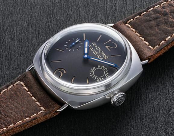 The Panerai Radiomir sports distinctive look of retro style.