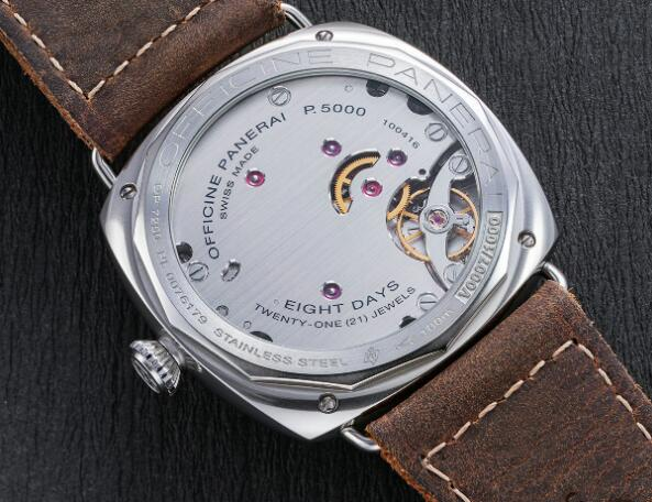 The Panerai could provide a power reserve of 3 days.