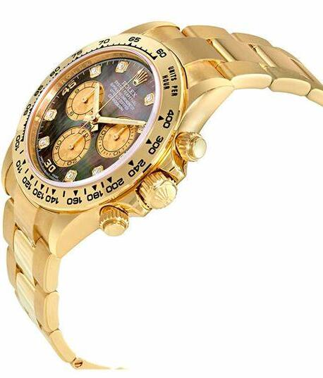 Hot fake watches are decorated with gold material.